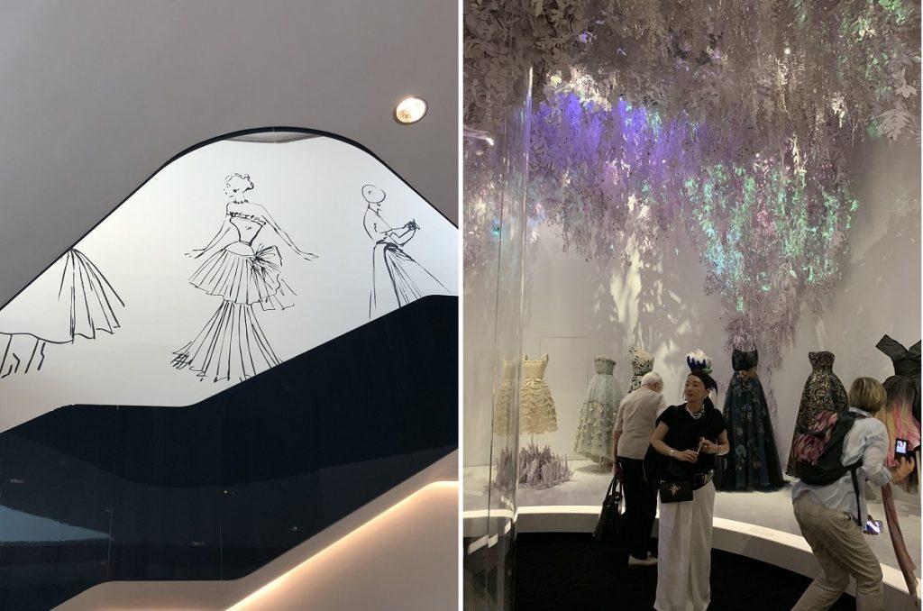 小林さん Dior展内部2枚