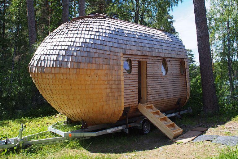 フィンランドの田園エリアで見つけた! かわいいもの