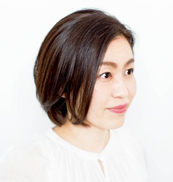 白髪対策 本瀬久美子さん アフター