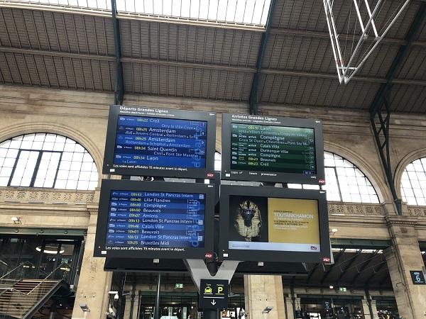 小林さん Gare du Nord