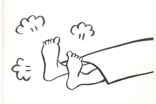 足がほてって眠れない~漢方的対策