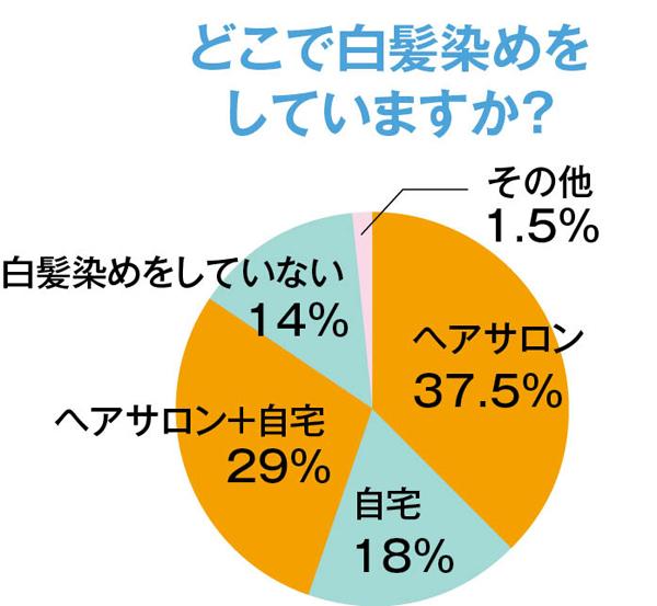 白髪対策 円グラフ2
