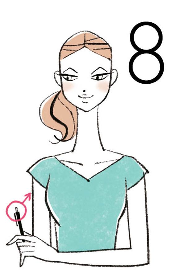 目の健康寿命 8方向8