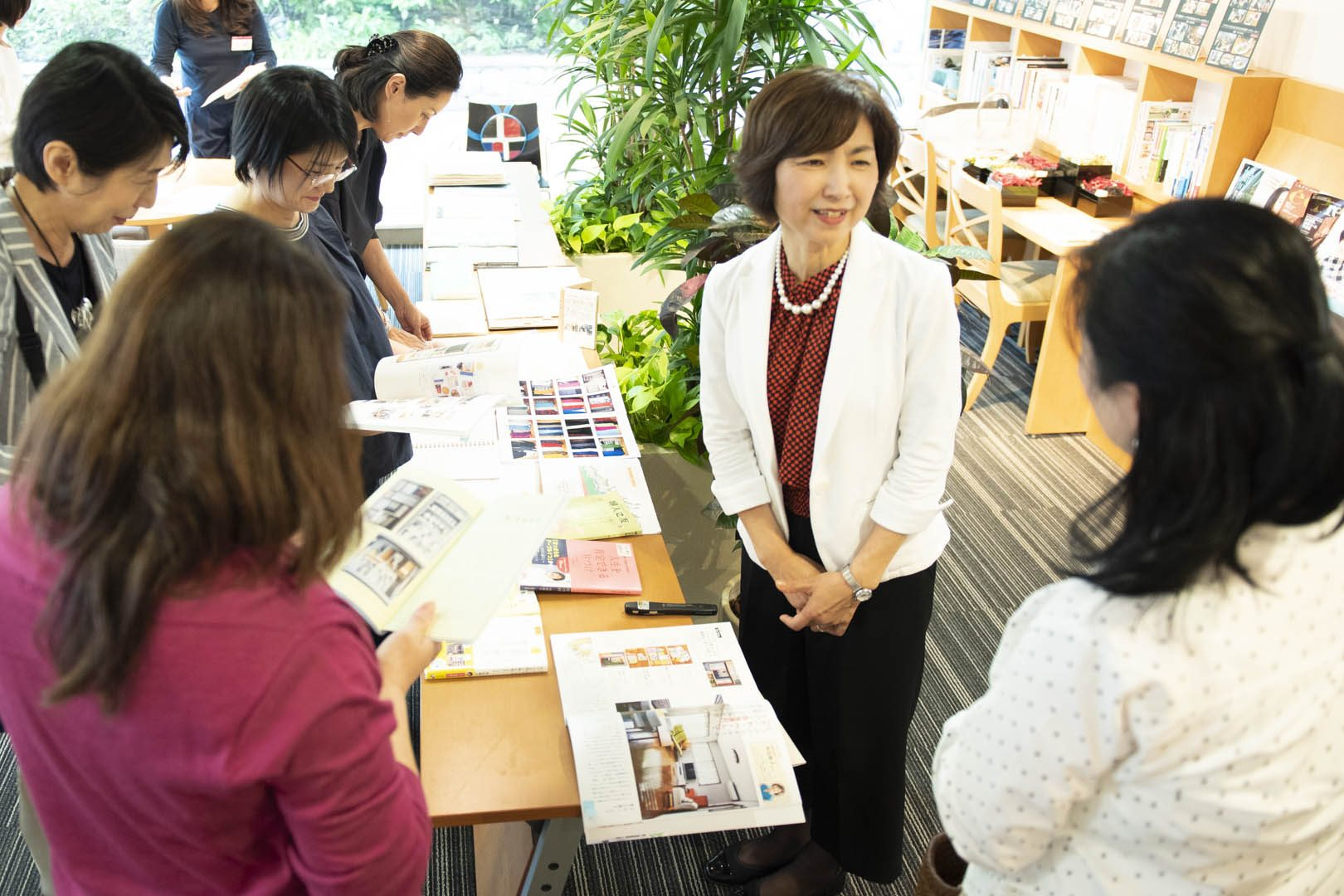 片づけのポイントは〝だわへし〟と〝しあわせ〟!「毎日を笑顔にする片づけセミナー」が開催されました。
