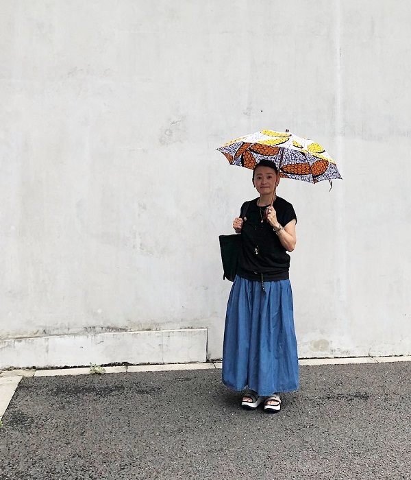 小林さん 日傘