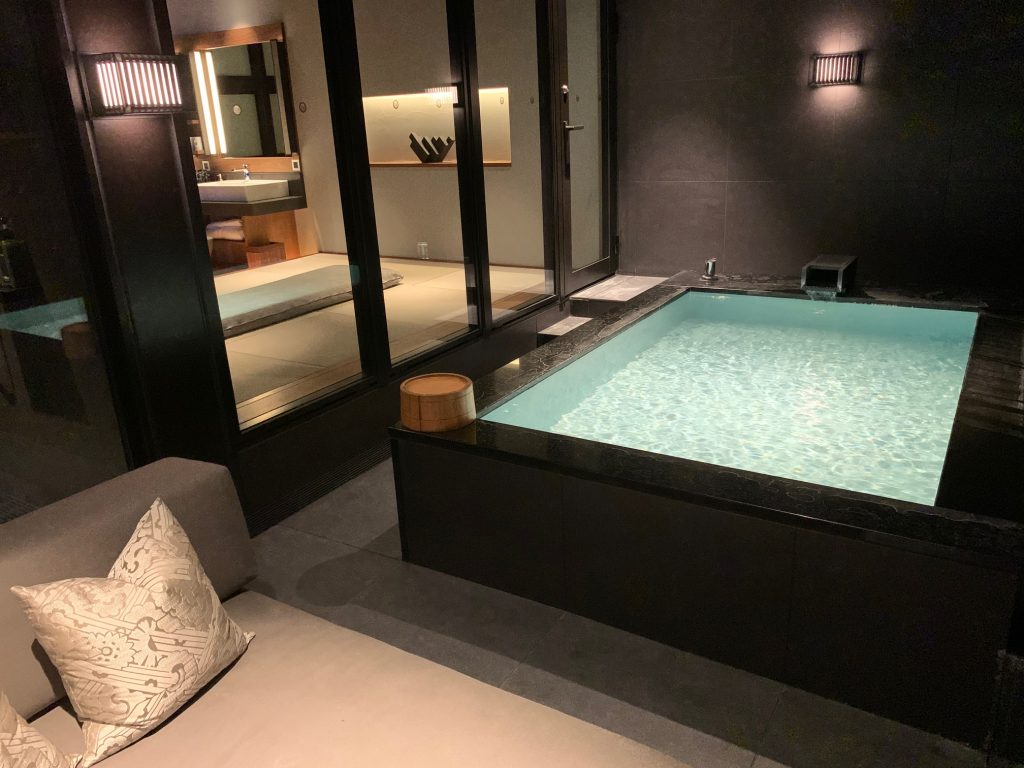 中込さん 浴室