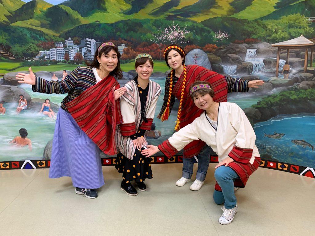 中込さん 温泉文化館