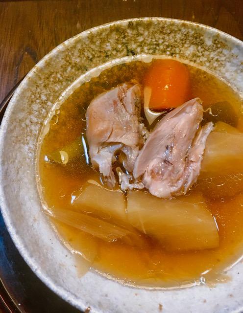樫出さん 漢方スープ