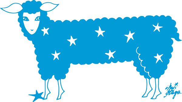 快眠メソッド イラスト羊