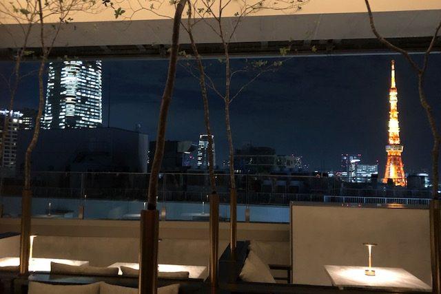 新オープンのホテルと老舗でのお茶、どちらも楽しい六本木アラフィフの夜