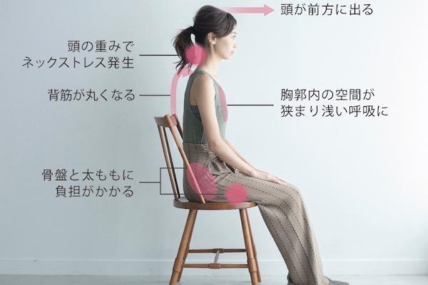 ネックストレスや浅い呼吸を改善する「おしり枕」って!?