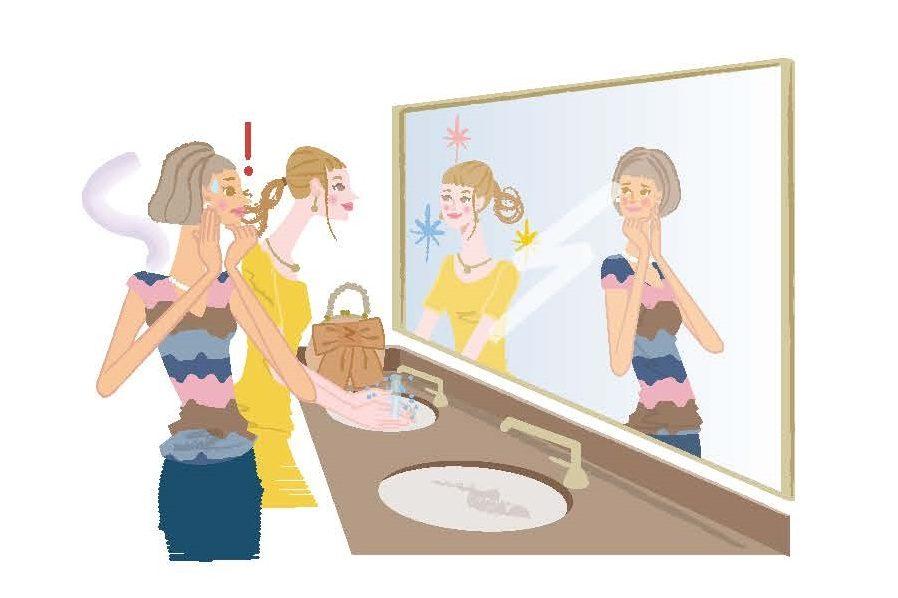 40~50代、肌が黄ぐすんでいるのは「乾燥ストレス」のせい?