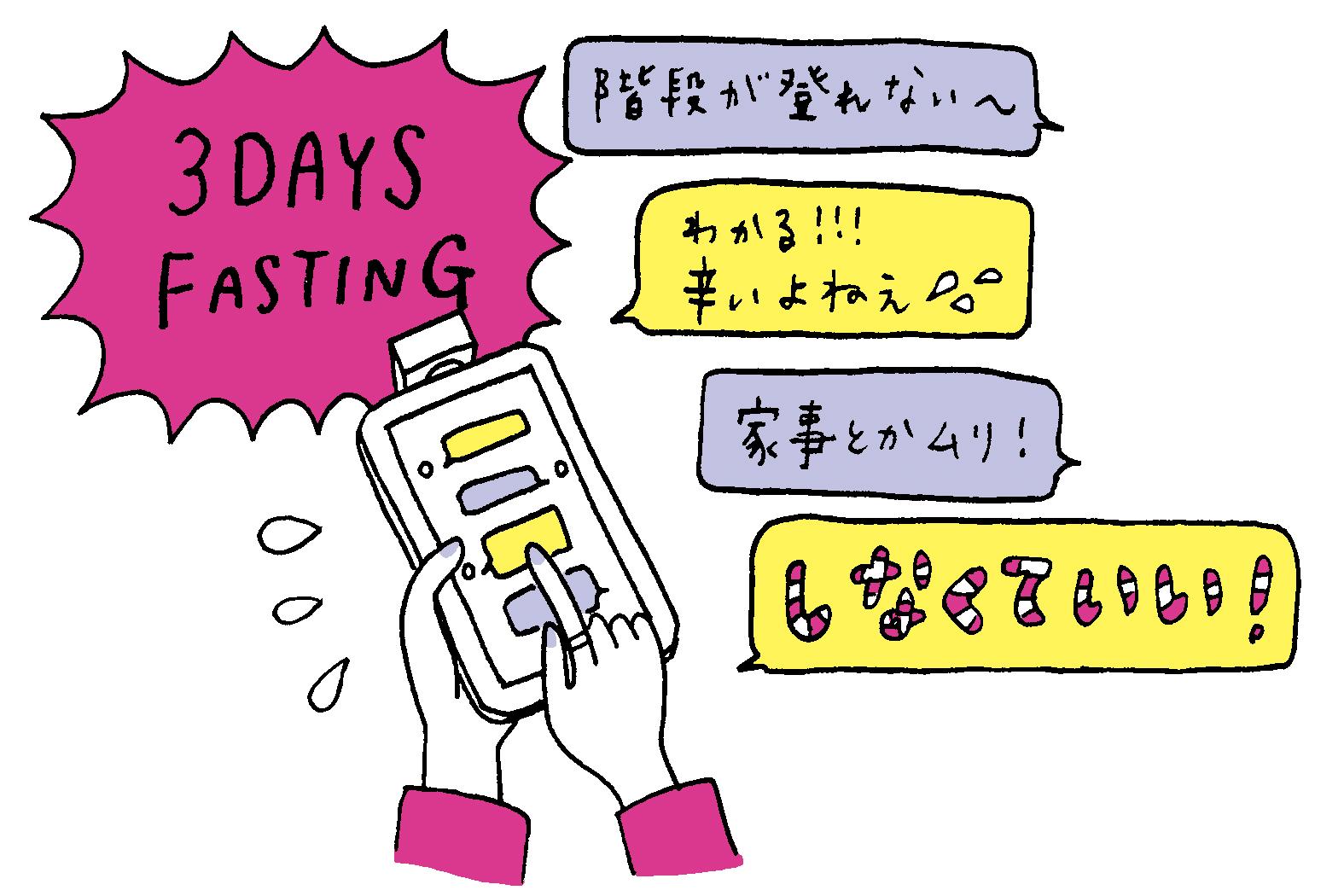 本気ダイエットのスタートは、 3日間の完全断食から/4か月でー12kg! 実録!ハイジ子のダイエット成功への道③