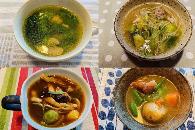 """「364日遅め夕食+晩酌」の私…。健康維持のカギは""""毎朝スープ""""!"""