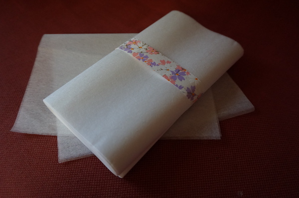 おうちで楽しむ、京の味と物⑥布マスクの内側の汚れも心配無用、快適な使用感の『和紙のちり紙』 「ぎおん やま京」