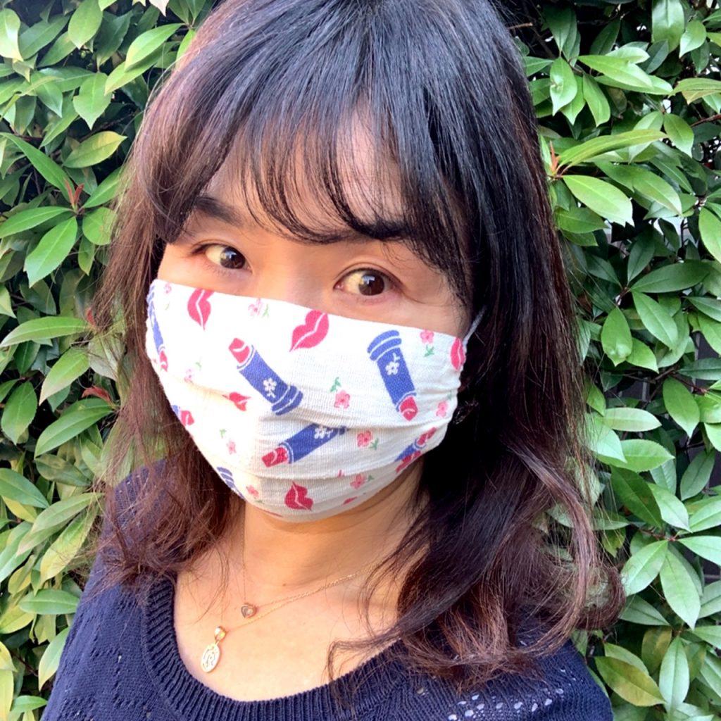 中込さん マスク