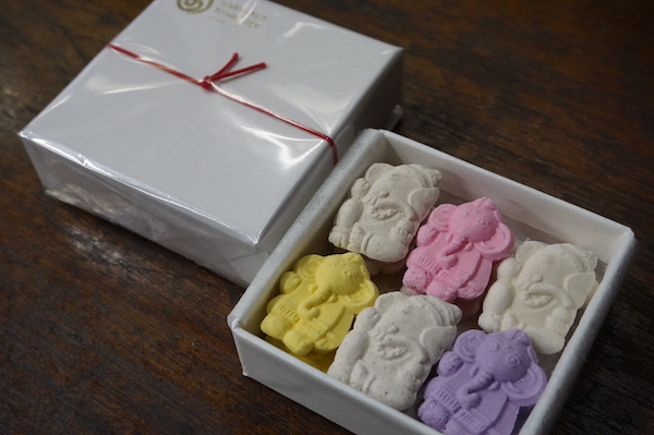 おうちで楽しむ、京の味と物⑬インドの知恵と成功の神「ガネーシャ」がモチーフのスパイシー干菓子 「御菓子司 若狭屋久茂」