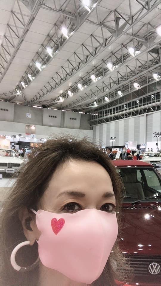朝倉さん ピンクマスク