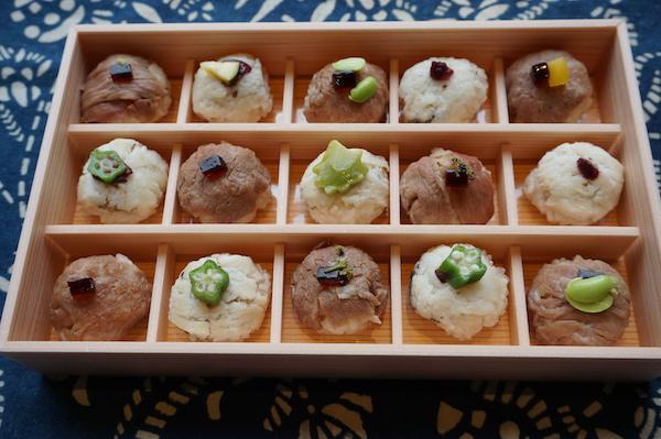 おうちで楽しむ、京の味と物⑱季節の味を一口サイズの和菓子のようなお寿司で楽しむ  「花梓侘」のつまみ寿し