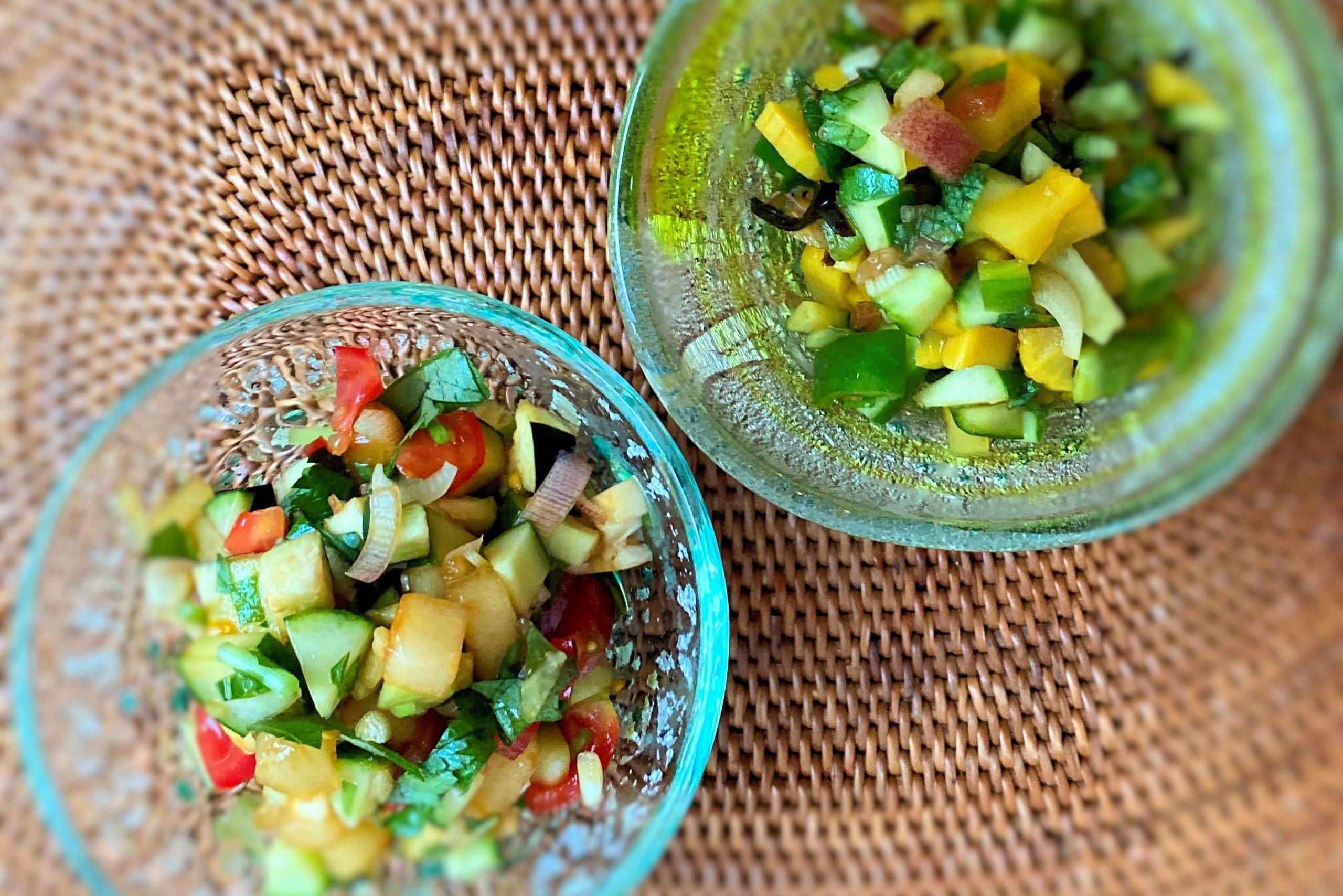 ボウルひとつでOK! 刻んだ野菜でビタミン補給!!さらっと食べられる郷土の銘品、山形の「だし」アレンジ