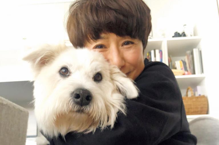 黒田知永子さんの心地よいおしゃれと暮らしを拝見!