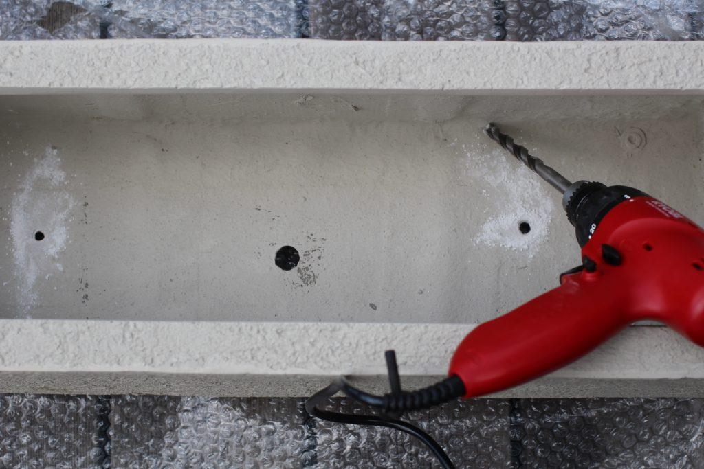 鉢の底穴 マドレーヌ