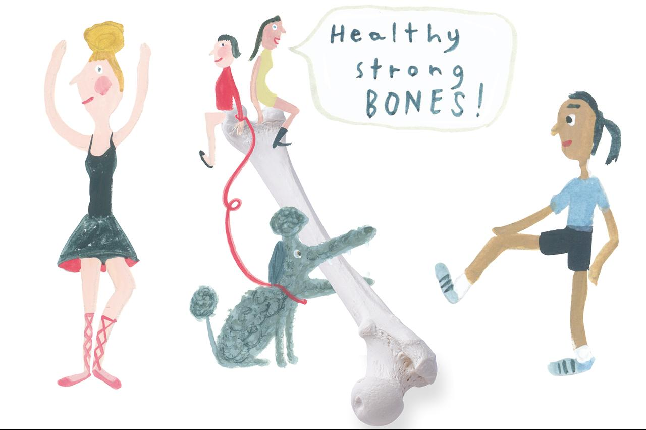 若さの源は骨にあり!  更年期前から準備して死ぬまで歩ける「骨」になろう!