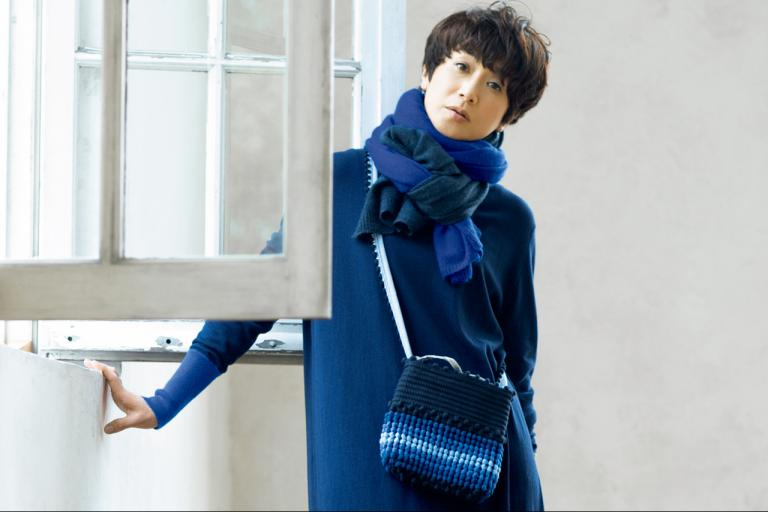 黒田知永子さんが着る、上質感に癒される肌触りのいい服