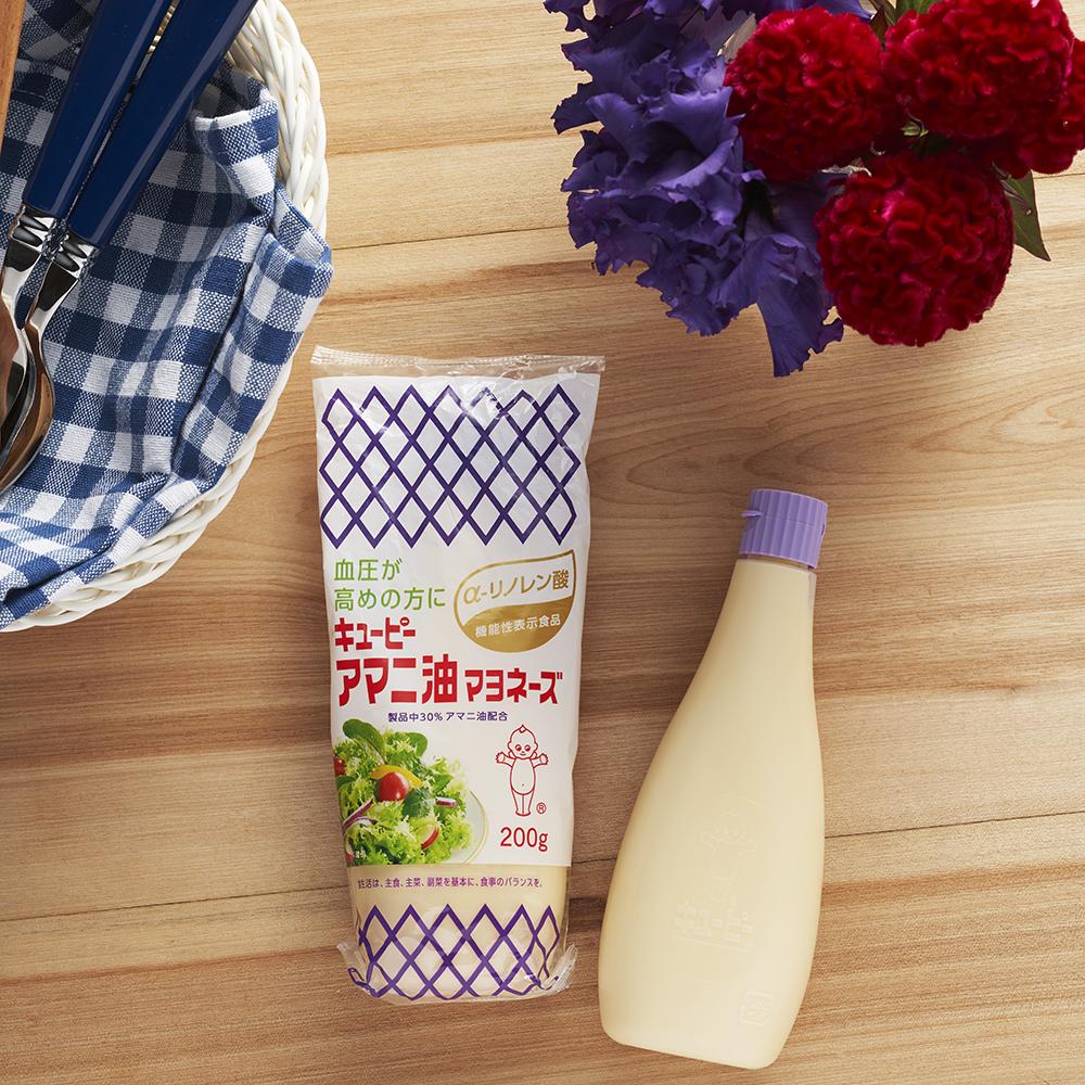 キユーピー アマニ油マヨネーズ 2本