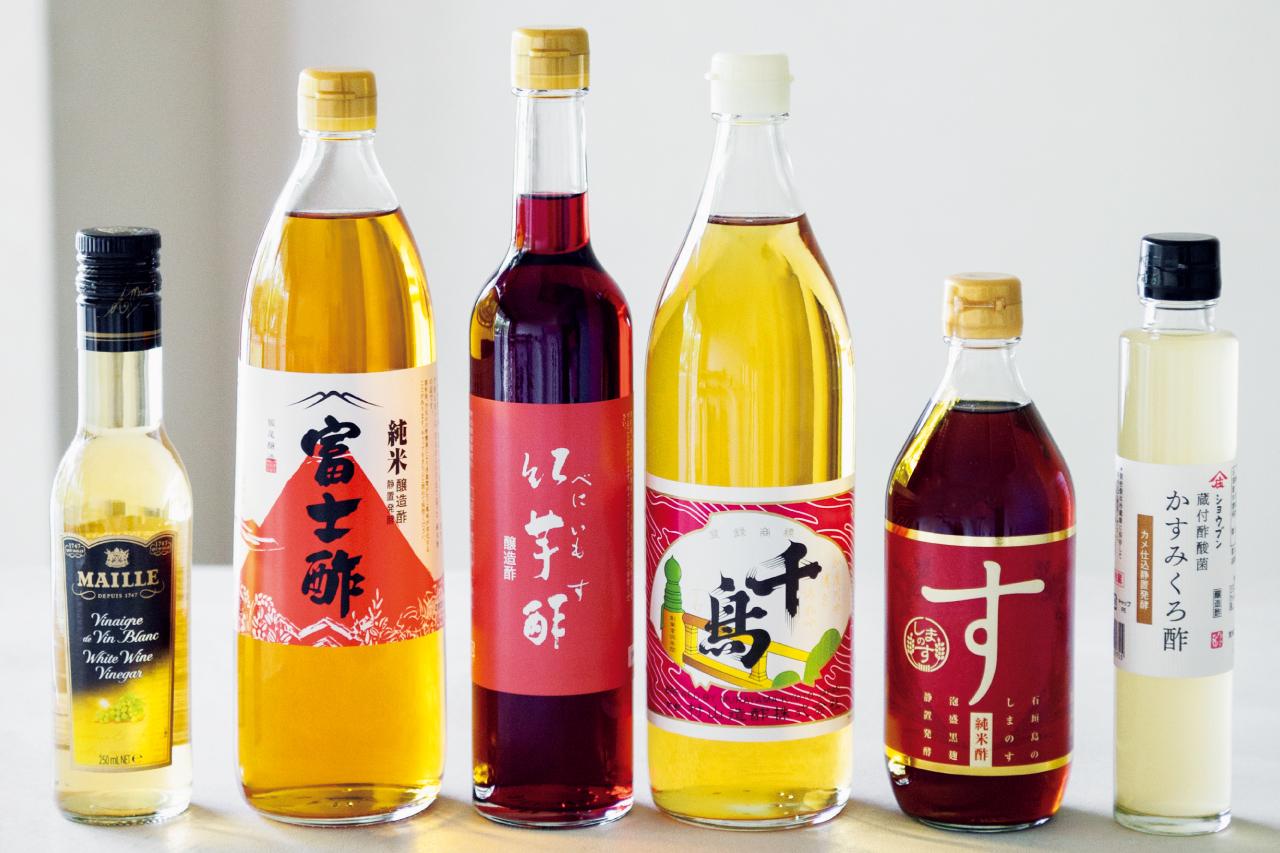 プロがおすすめする! 昔ながらの手法、こだわりの原料で作ったおいしいお酢6選