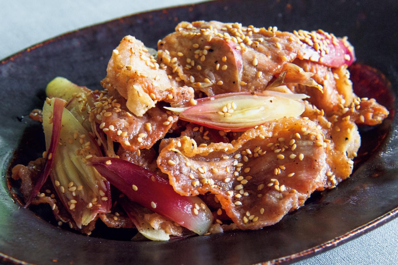 お酢であえて爽やか味に!「豚肉とみょうがのカリカリ揚げ」/メインおかずにお酢をプラス③