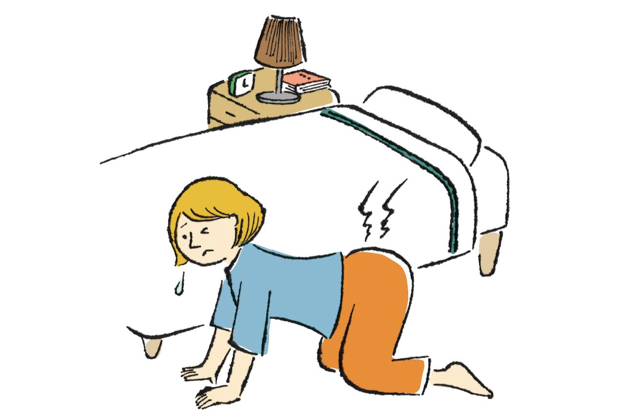 腰・背中・腹部の痛み・・・。その症状に病気が隠れているかも!?/その「なんとなく不調」もしかして…!?④