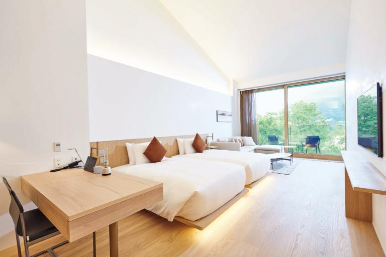 【MUNI KYOTO】嵐山・渡月橋の景観を最大限に楽しめる唯一無二のホテル/京都の最新ホテル④
