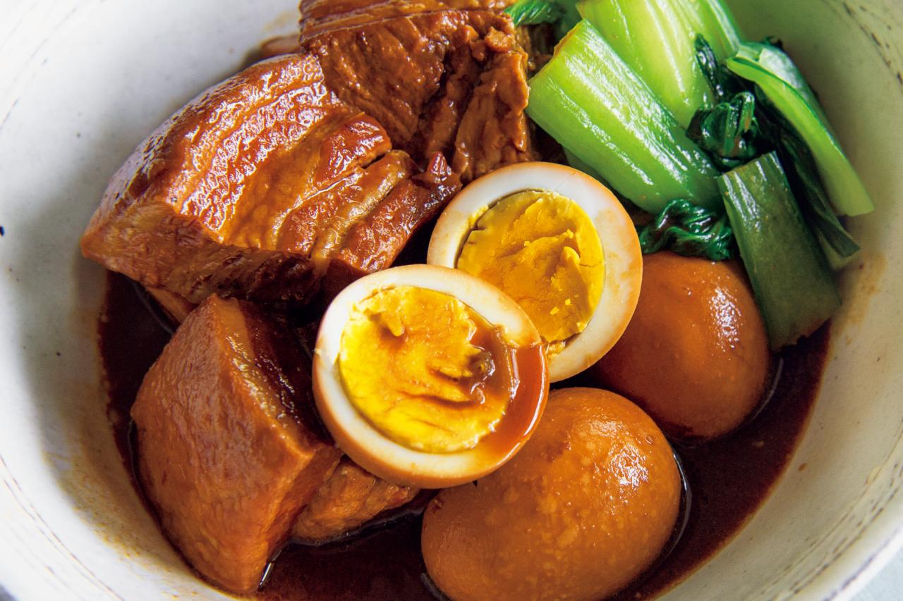 塊肉がお箸でちぎれるほど柔らかくなった!「豚の酢煮」/メインおかずにお酢をプラス②