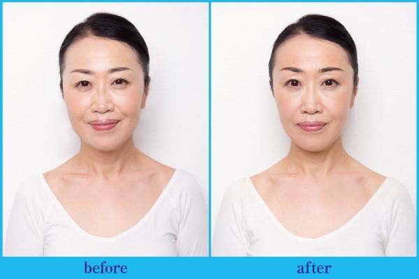50代読者の顔が…!『老け顔矯正マッサージ』で起きた変化とは