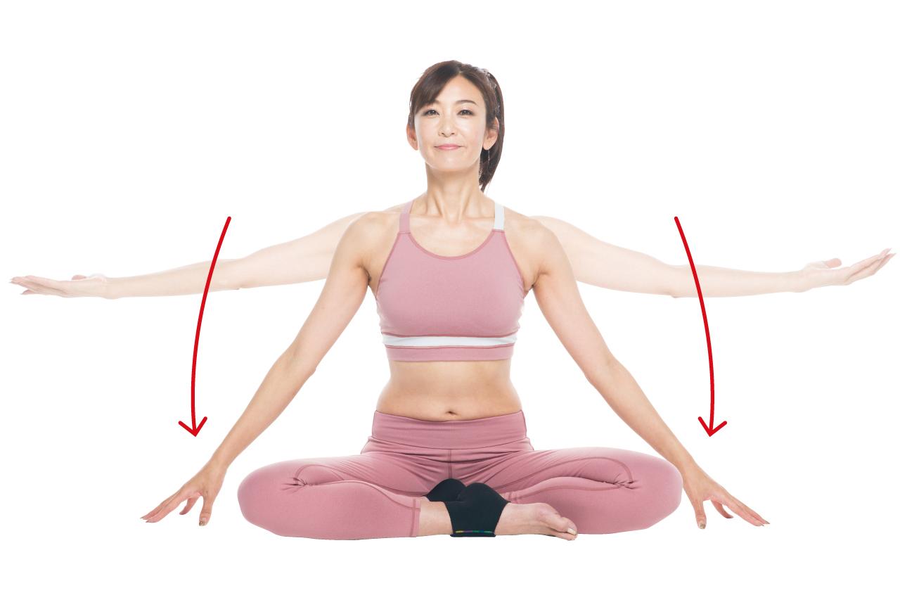 52歳・奇跡の美ボディ中島史恵さんの「逆トレ」で、脂肪が落ちにくい二の腕を引き締める!