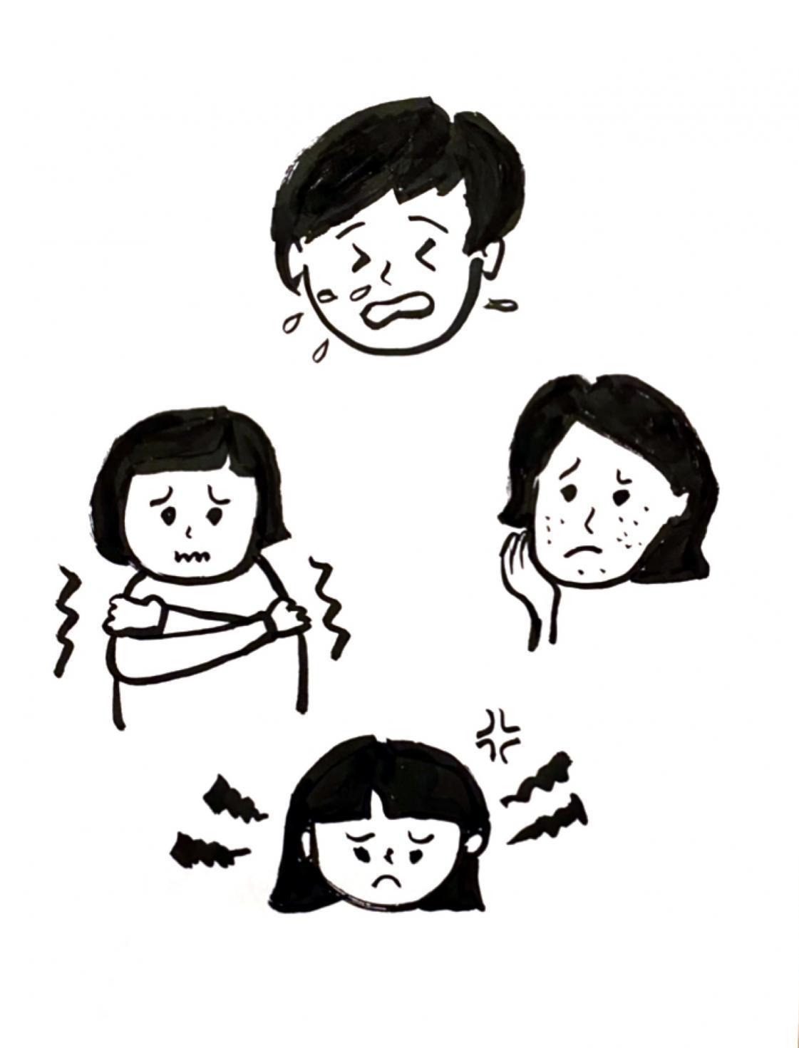 樫出さん 症状