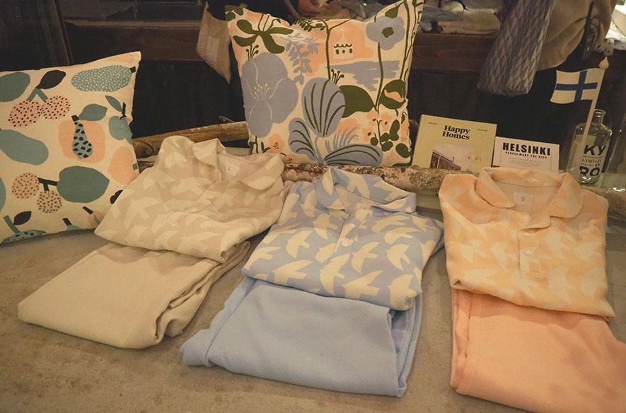 フィンランドデザインのパジャマ