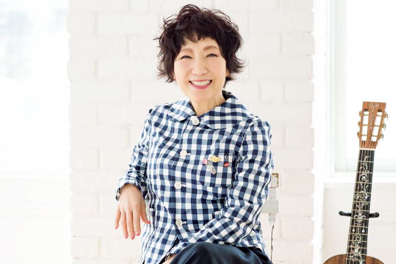 森山良子さんインタビュー/歌は肺活にも精神衛生にもおすすめです
