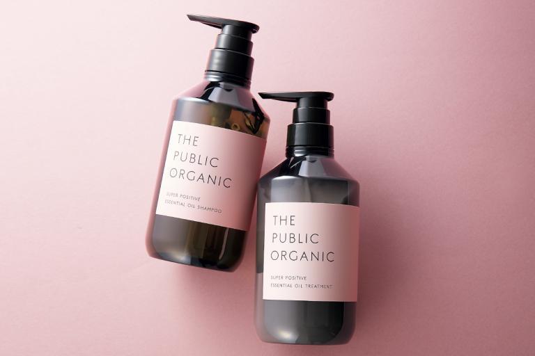 髪を洗いながら幸福感をもたらす新感覚の2品!/ザ パブリック オーガニック スーパーポジティブ ダメージリペア シャンプー、トリートメント
