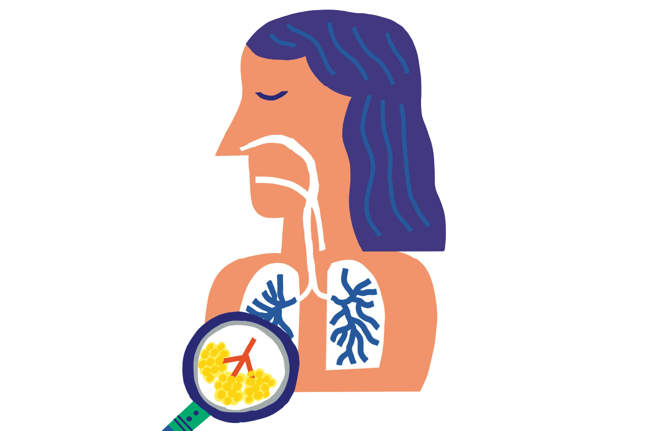 「息切れ」や「長引く咳(せき)」は、肺機能の低下の第一歩かも!?