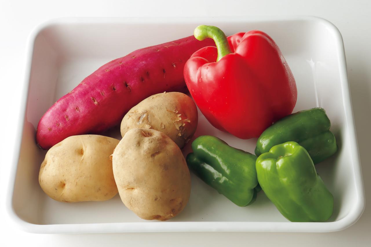 ジャガイモなどの野菜