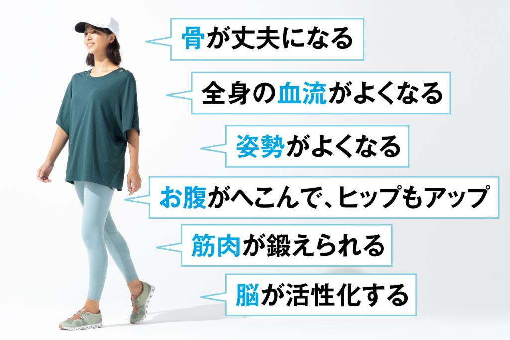 正しい歩き方に変えれば、こんなに体が変わる!/不調はウォーキングで解決できる②