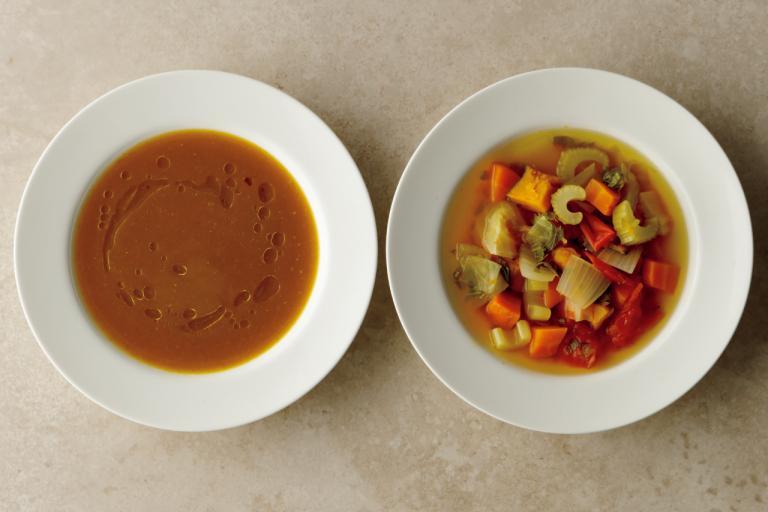 「ごろごろスープ」と「ポタージュ」/基本のウェルネス野菜スープの作り方