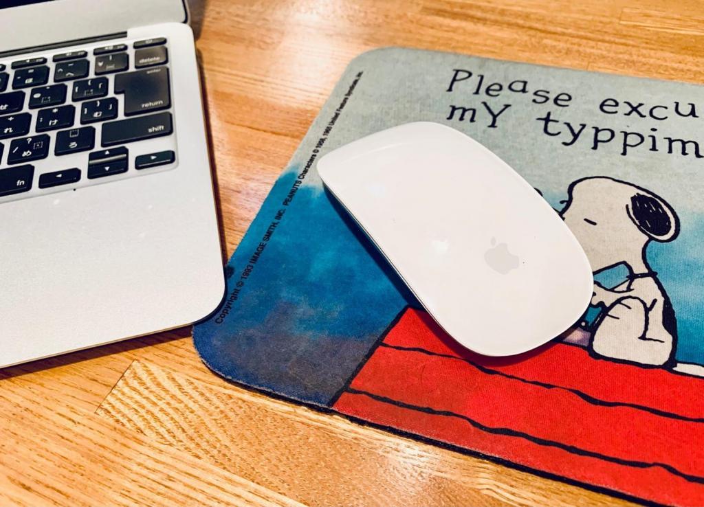Macbook Air用に購入したコードレスマウス