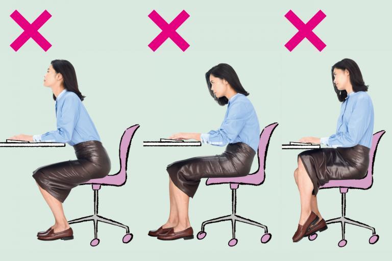 あなたの座り方をチェック! 体に悪い3つの座り方とは?/「座りすぎ時代」のセルフケア②
