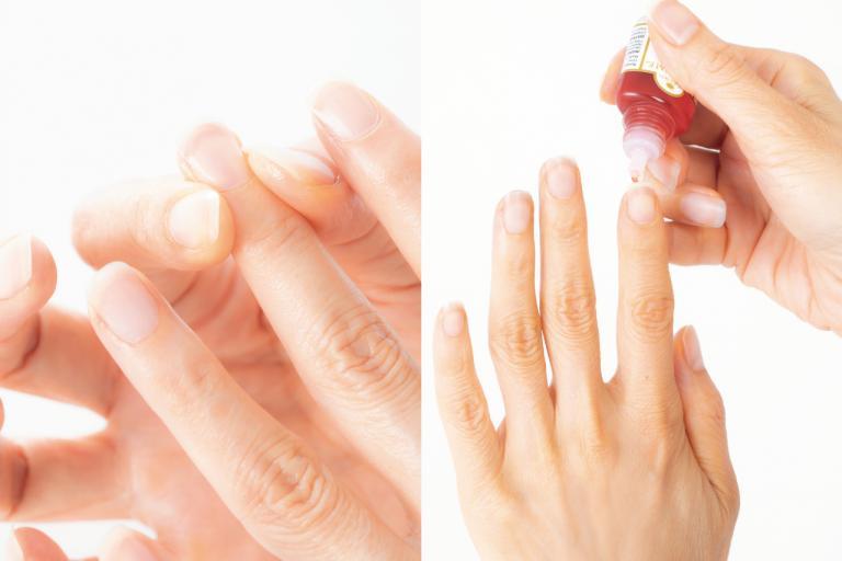 育爪ケアのスペシャリストが実践!「 素爪を育てる」オイルケアとは?/ストップ「手老化」!④