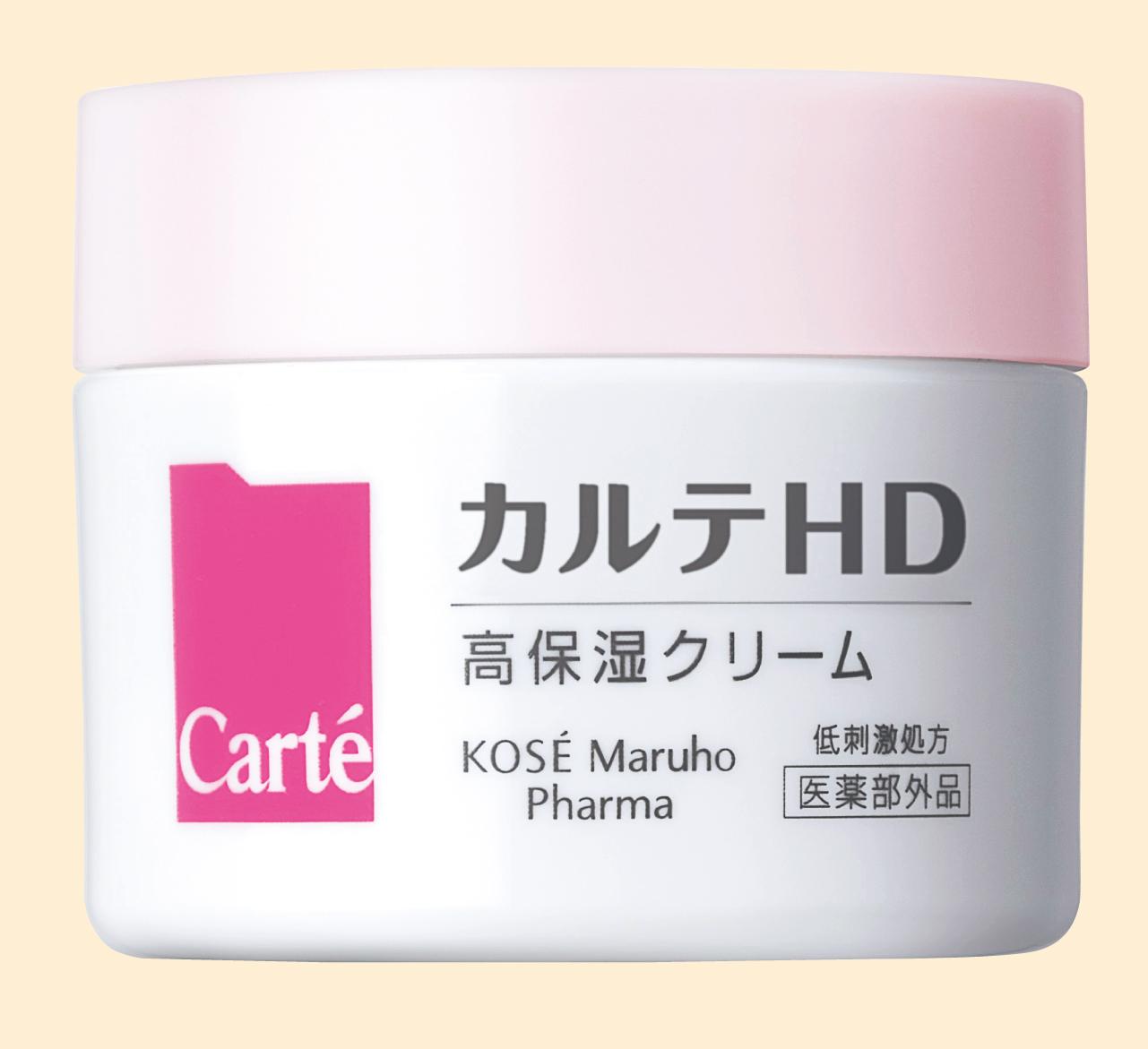 カルテHD モイスチュア クリーム<医薬部外品>40g ¥2,300/コーセーマルホファーマ