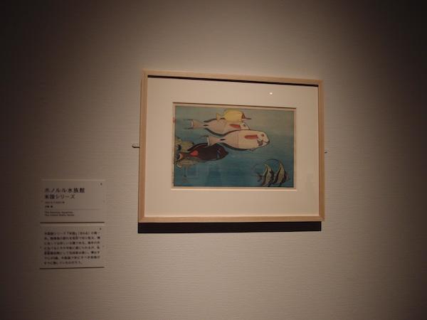 吉田さらさおでかけ「吉田博展」ホノルル水族館P1253018.JPG