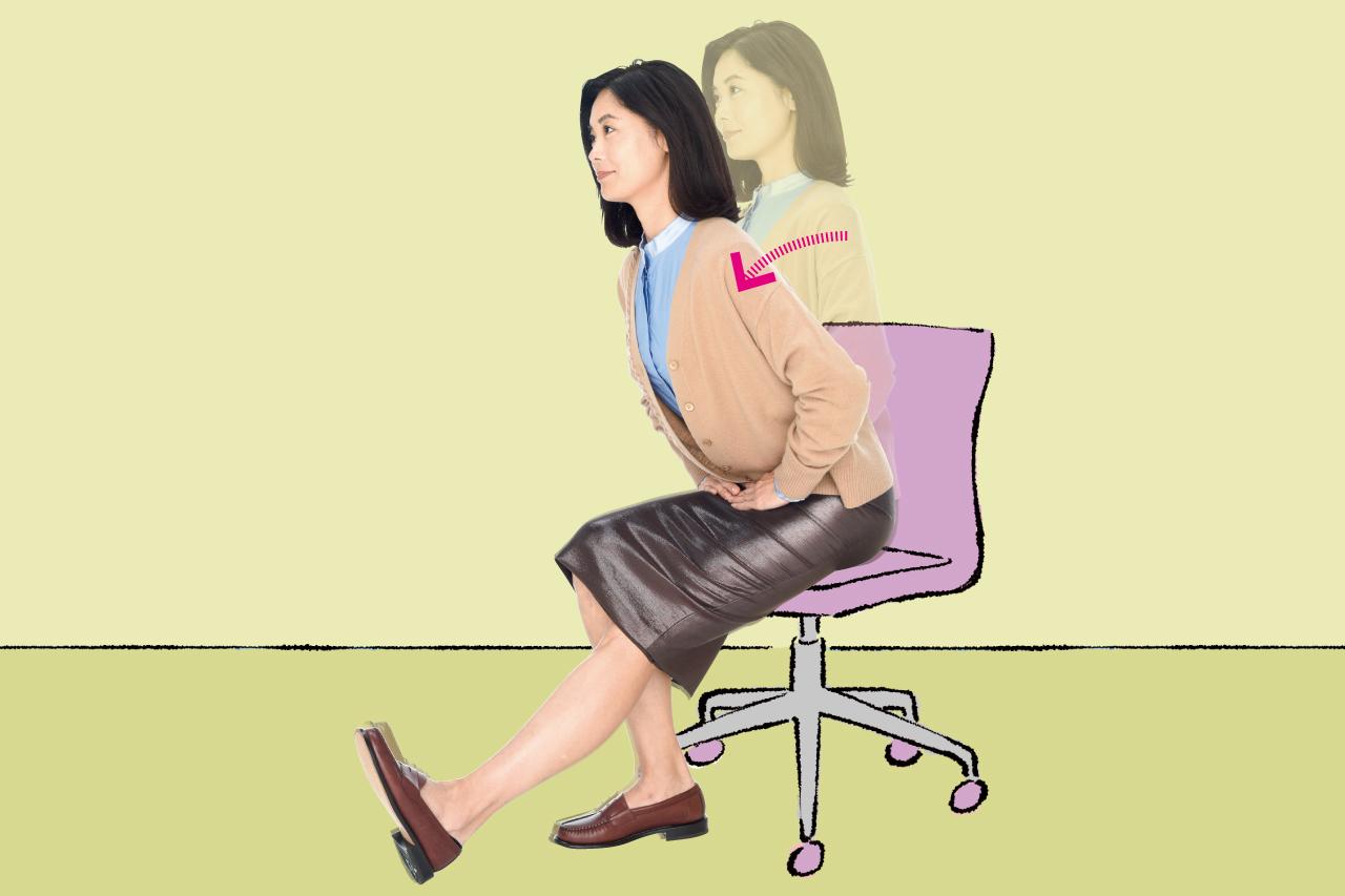 立ち姿勢を取れないときに、座ったままで出来る「こそトレ」とは?/「座りっぱなし」のトラブル予防に!①